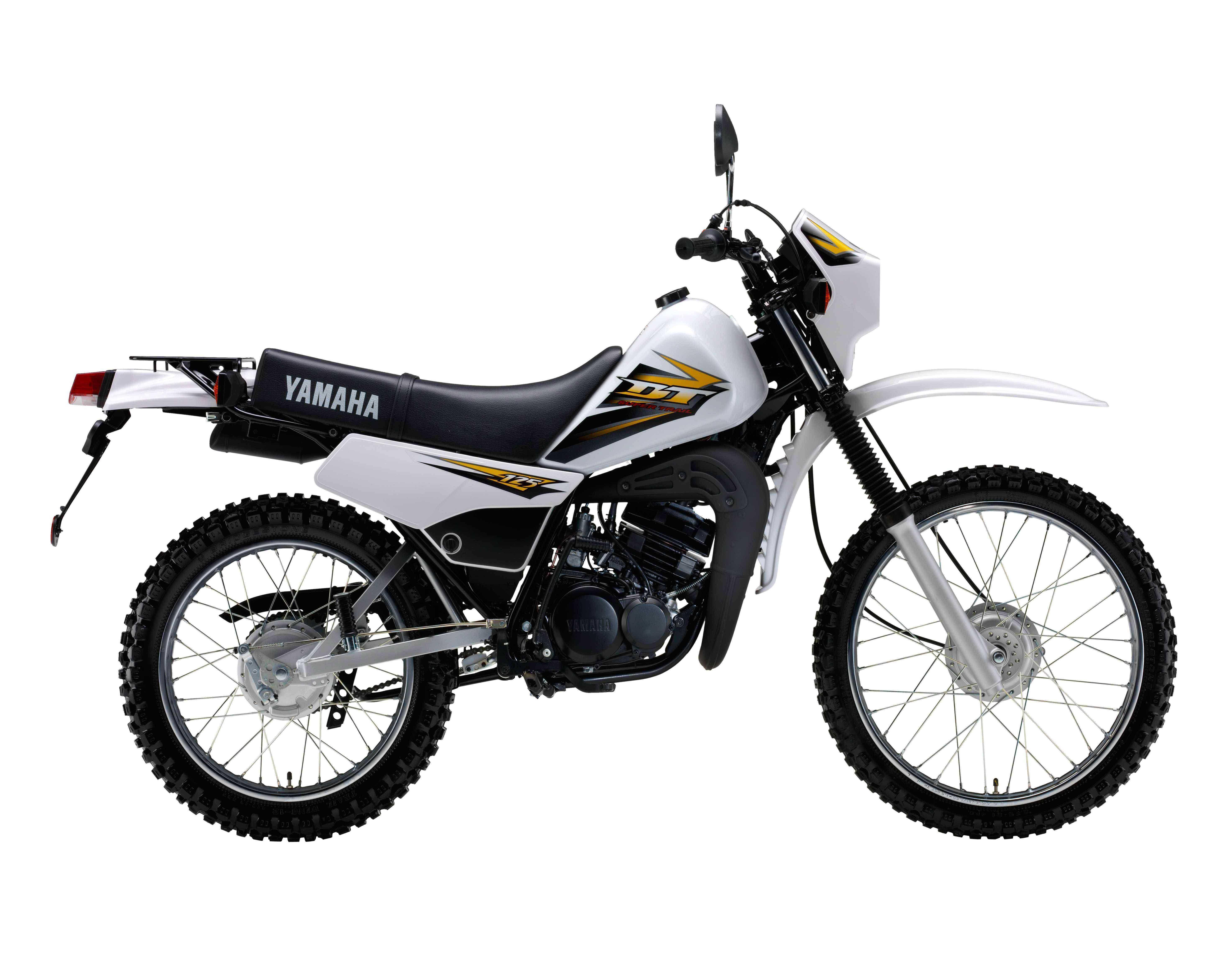 Yamaha 2 Stroke Motorcycle
