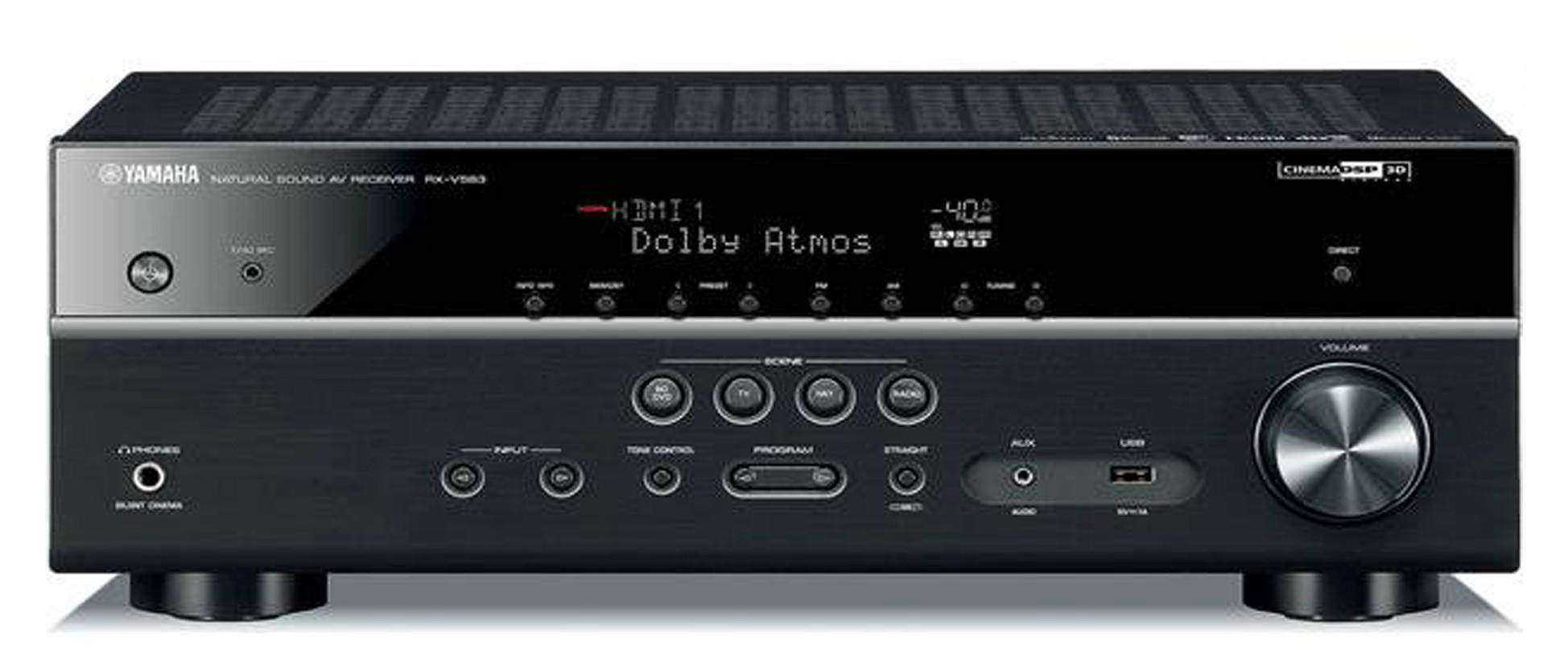 Yamaha receiver amplifiers receivers audio video for Yamaha audio customer service