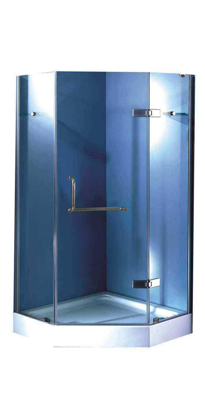 Corner Shower Enclosure - Shower Enclosures - Bathroom - Home & Garden