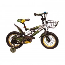 MTB 14'' Boys Bicycle (Army)