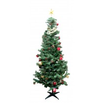Christmas Tree (with lights/deco)