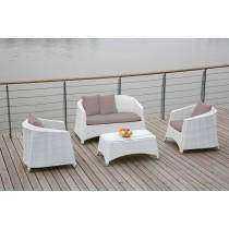 4-Piece Outdoor Sofa Set