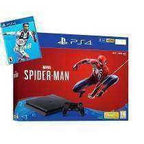 Sony PlayStation w/ Spiderman+FIFA19