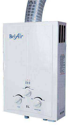 BelAir Gas Water Heater 5L