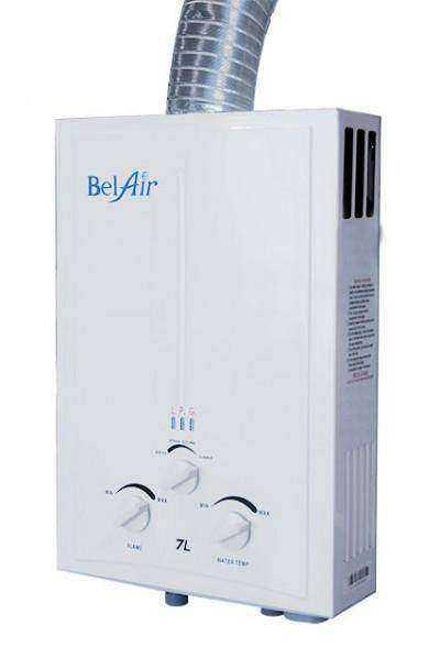 BelAir Gas Water Heater 7L