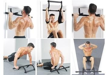 Chin Up Bar with Arm Strap