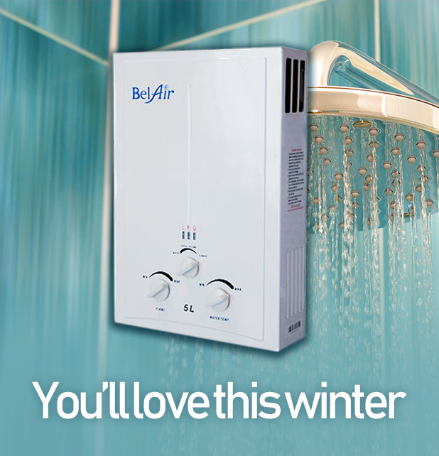 BelAir Gas Water Heater
