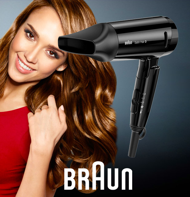 Braun hair dryer at Jkalachand